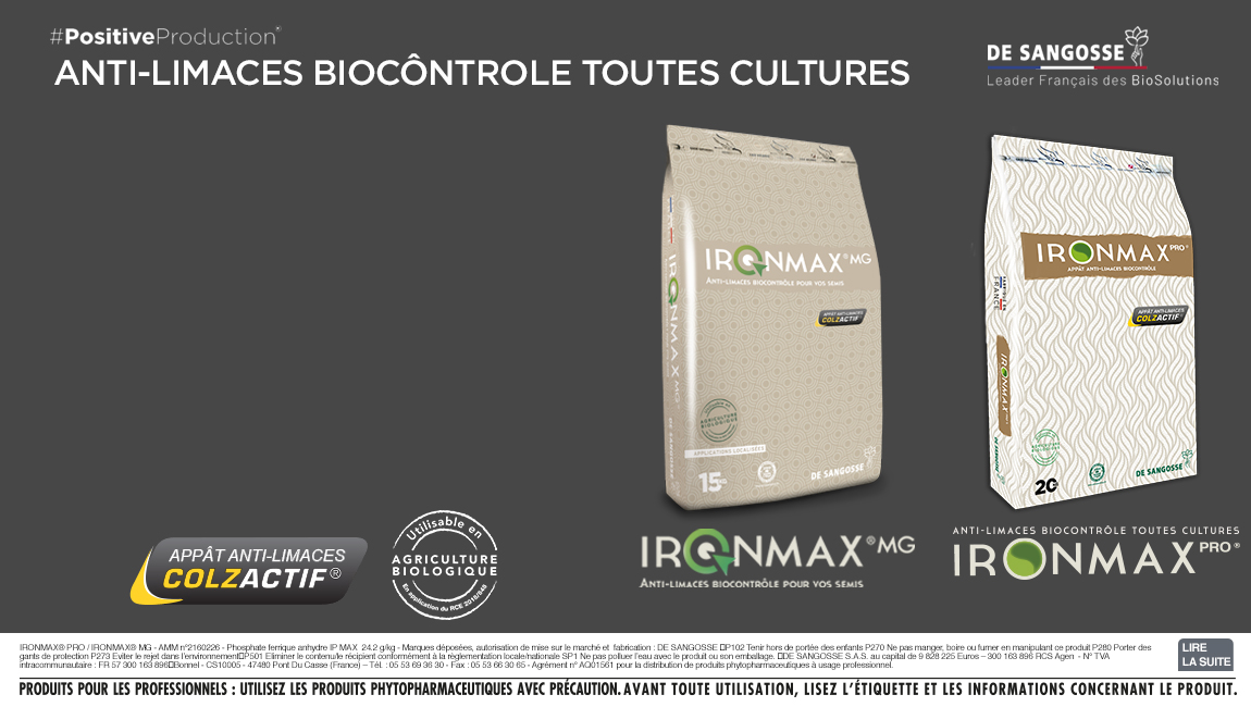 IRONMAX PRO® et IRONMAX® MG